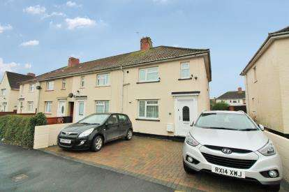 3 Bedrooms End Of Terrace House for sale in Fonthill Road, Southmead, Bristol
