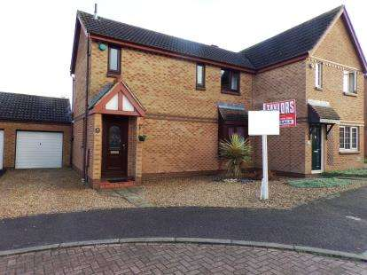 3 Bedrooms Semi Detached House for sale in Fontwell Drive, Bletchley, Milton Keynes, Buckinghamshire