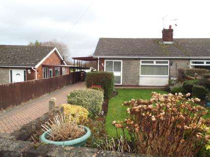 2 Bedrooms Bungalow for sale in Moorcroft, New Brighton, Mold, Flintshire, CH7