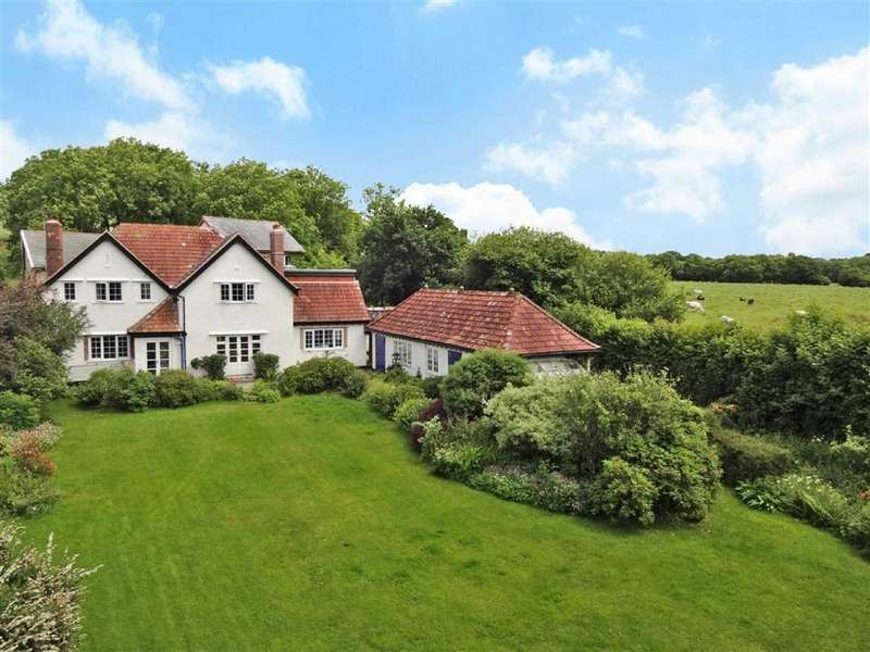 4 Bedrooms Detached House for sale in Yeo Mill, South Molton, Devon, EX36