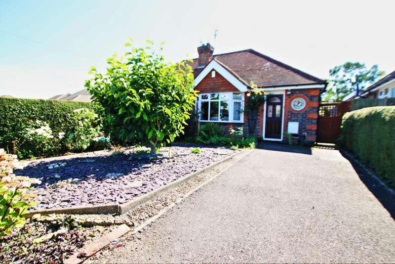 2 Bedrooms Semi Detached Bungalow for sale in Mill Road, Hailsham BN27