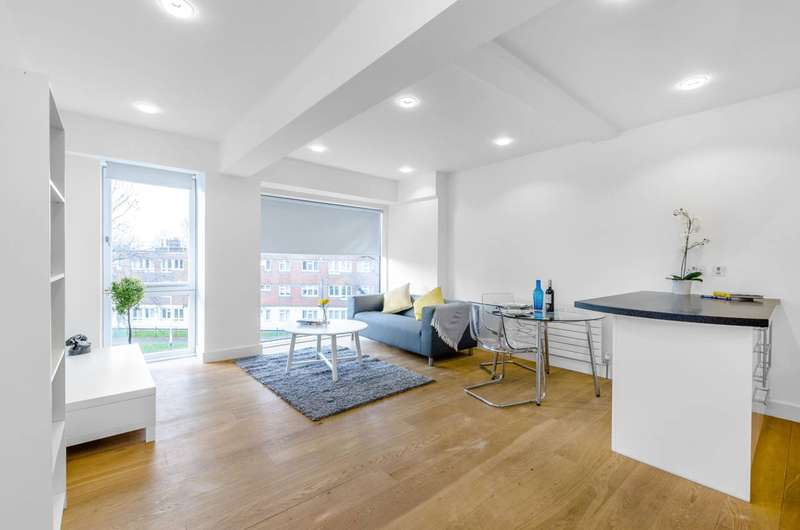 1 Bedroom Flat for sale in Grafton Road, Kentish Town, NW5