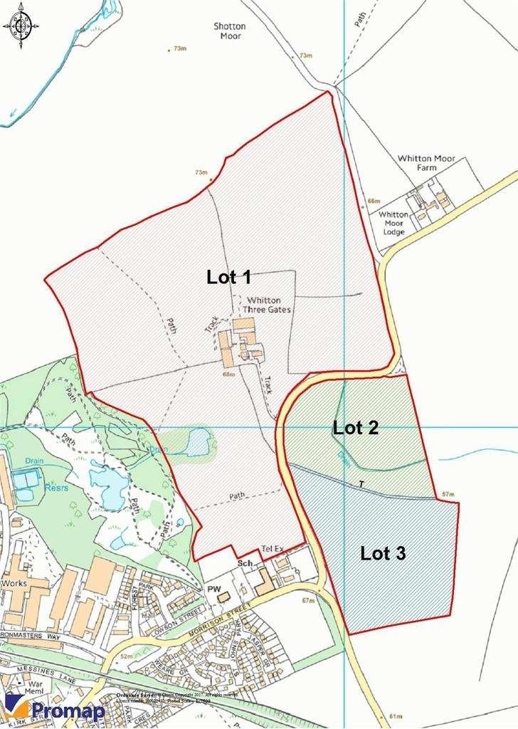 Farm Land Commercial for sale in Lot 2 Whitton Three Gates, Whitton Lane, Stillington, Stockton On Tees, Durham