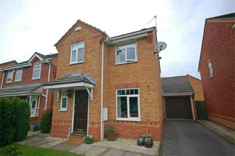 3 Bedrooms Detached House for sale in Wakehurst Close, Maple Park, Nuneaton, CV11