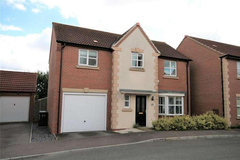 4 Bedrooms Detached House for sale in Nero Way, North Hykeham, LN6