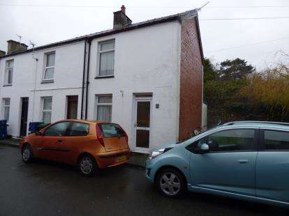 2 Bedrooms End Of Terrace House for sale in Vron Square, Bangor, Gwynedd, LL57