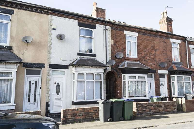 2 Bedrooms Terraced House for sale in Wellesley Road, Oldbury