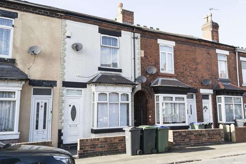 2 Bedrooms Terraced House for sale in Wellesley Road, Oldbury