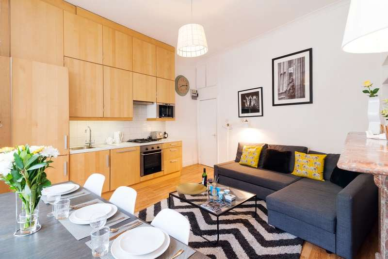 2 Bedrooms Ground Flat for sale in Beaumont Crescent, London, W14 9LX