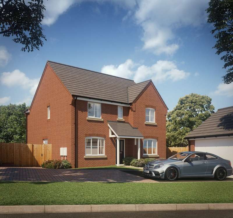 4 Bedrooms Detached House for sale in Plot 36 The Hartland, Hartwell Grange