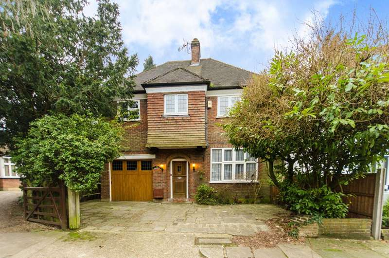 4 Bedrooms House for rent in Fircroft, St Andrews Close, Woodside Park, N12
