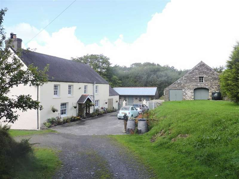 4 Bedrooms House for sale in New Moat, Clarbeston Road, Pembrokeshire