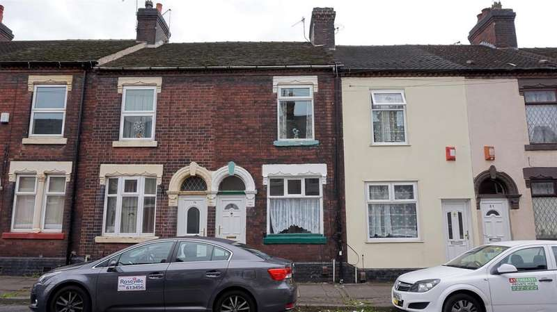2 Bedrooms Terraced House for sale in Kimberley Road, Etruria, Stoke-On-Trent, Staffs