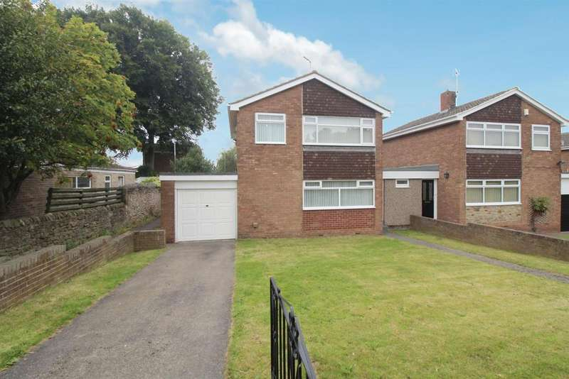 3 Bedrooms Link Detached House for sale in Bryans Leap, Burnopfield, Newcastle Upon Tyne