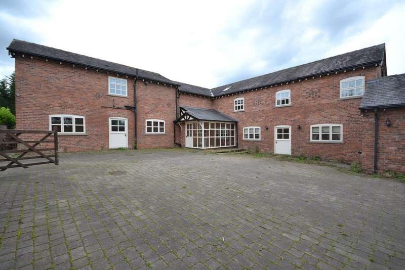 5 Bedrooms Barn Conversion Character Property for sale in Chelford Road, Alderley Edge