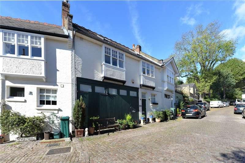 2 Bedrooms Mews House for sale in Daleham Mews, Belsize Village, London, NW3
