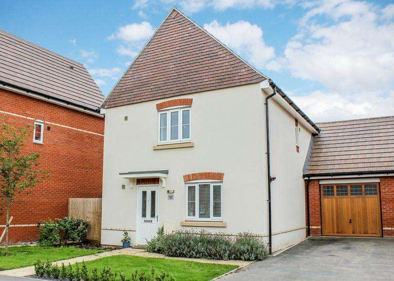 3 Bedrooms Link Detached House for sale in Whittington Crescent, Wantage