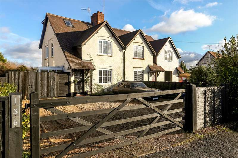 3 Bedrooms Semi Detached House for sale in Ockford Ridge, Godalming, Surrey, GU7