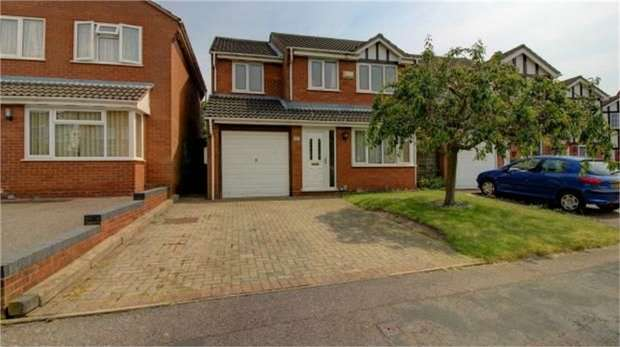 4 Bedrooms Detached House for sale in Arbor Close, Tamworth, Staffordshire