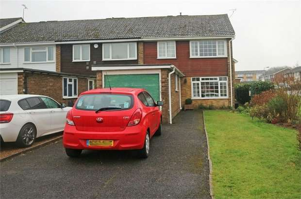 3 Bedrooms End Of Terrace House for sale in Collyer Road, Stokenchurch, High Wycombe, Buckinghamshire