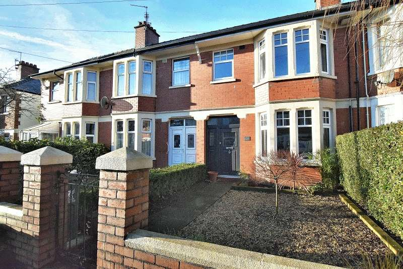 3 Bedrooms Terraced House for sale in Lansdowne Avenue, Rhiwbina, Cardiff. CF14 6AT