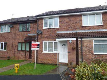 2 Bedrooms Terraced House for sale in Atwater Close, Lincoln, Lincolnshire, .