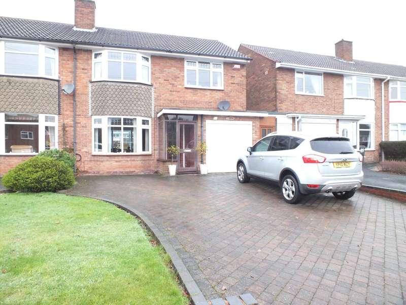 3 Bedrooms Semi Detached House for sale in Worcester Lane, Sutton Coldfield