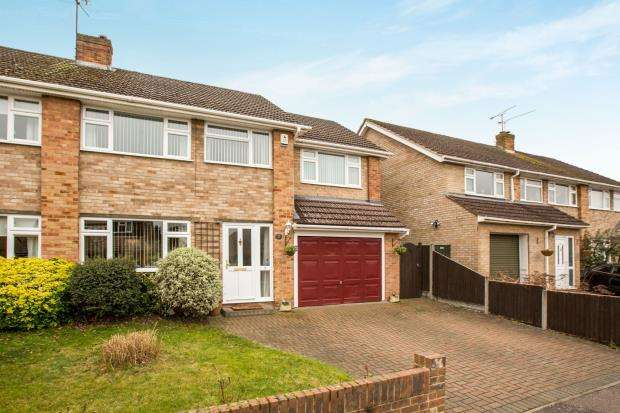 4 Bedrooms Semi Detached House for sale in Lightwater, Surrey, .