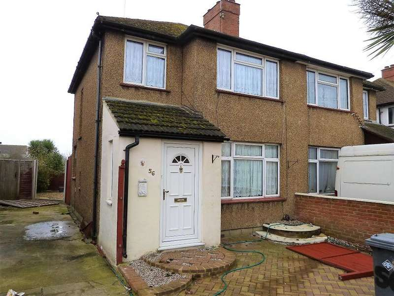3 Bedrooms Semi Detached House for sale in Crowland Avenue, Hayes, UB3 4JP