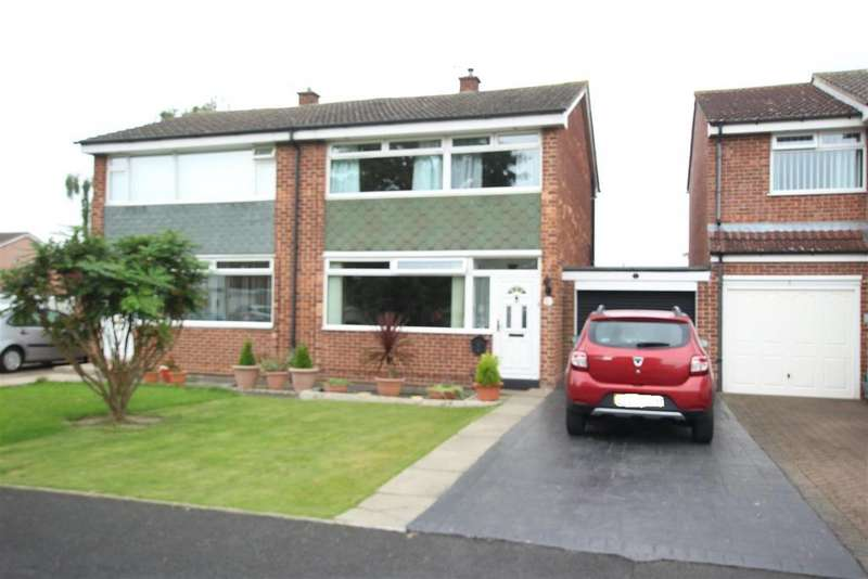 3 Bedrooms Semi Detached House for sale in Drinkfield Crescent, Darlington