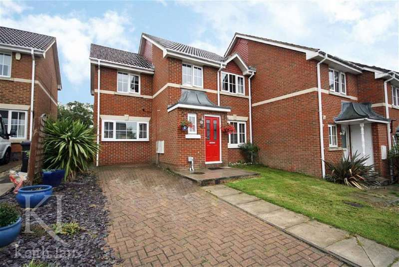 4 Bedrooms End Of Terrace House for sale in Little Stock Road, West Cheshunt
