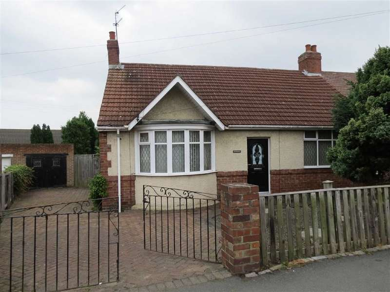 2 Bedrooms Semi Detached Bungalow for sale in Fatfield Road, Washington