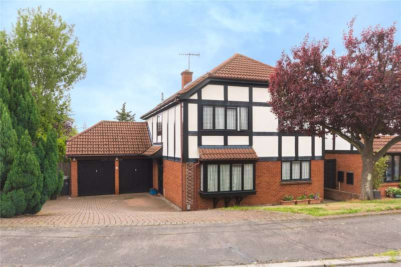 4 Bedrooms Detached House for sale in Albany Close, Bushey, WD23