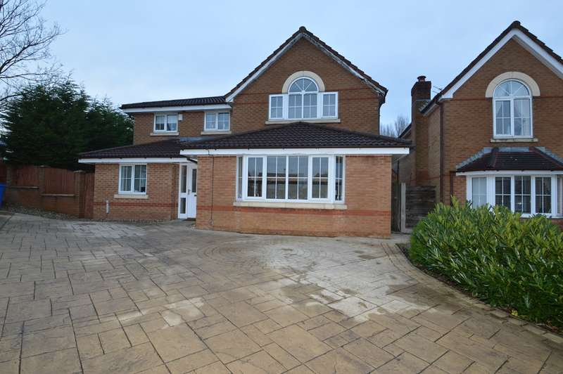 4 Bedrooms Detached House for sale in Willow Close The Pavilions, Unsworth, Bury, BL9