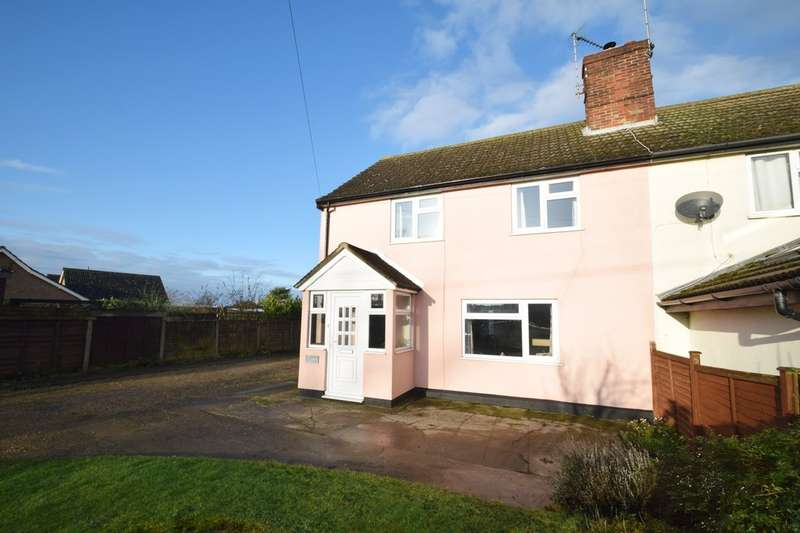3 Bedrooms Cottage House for sale in Saxham Street, Stowupland IP14