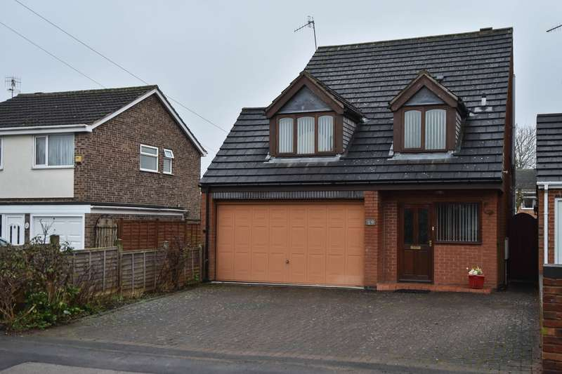 4 Bedrooms Detached House for sale in Wildmoor Lane, Catshill, Bromsgrove, B61