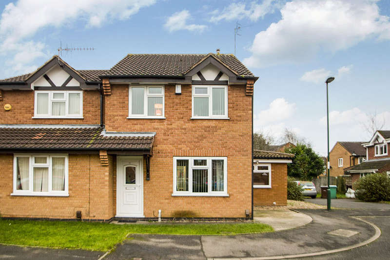 3 Bedrooms Semi Detached House for sale in Gothic Close, Nottingham, NG6
