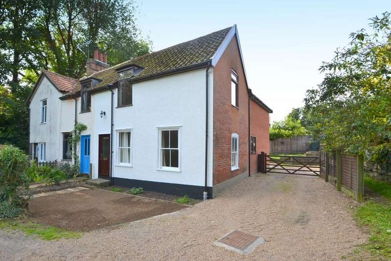 3 Bedrooms Semi Detached House for sale in Pin Mill Road, Chelmondiston, Ipswich, IP9 1JE