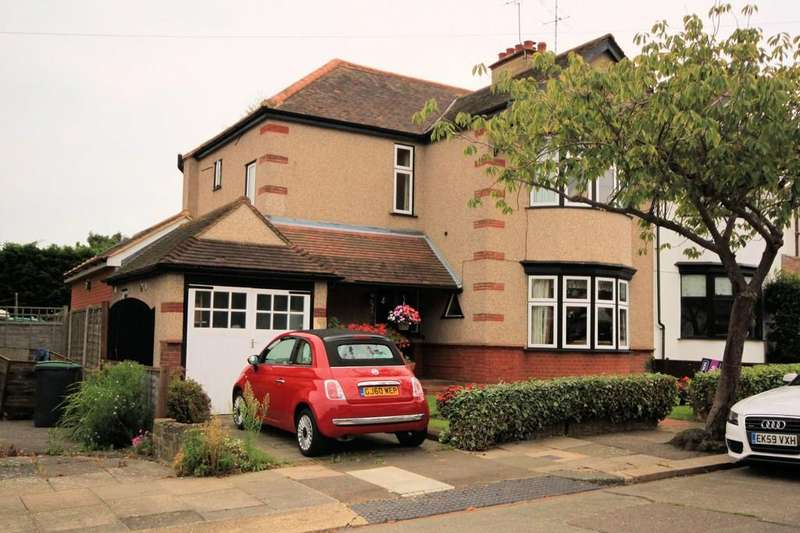 3 Bedrooms Semi Detached House for sale in Fillebrook Avenue, Leigh-on-Sea