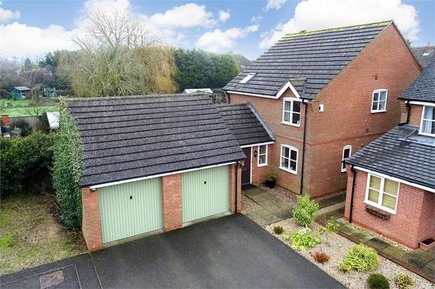 4 Bedrooms Detached House for sale in Cherry Tree Close, Husbands Bosworth, Leicestershire