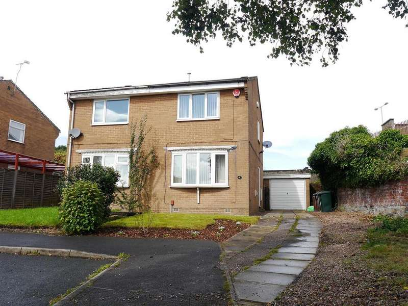 2 Bedrooms Semi Detached House for sale in Hatton Close, Odsal, Bradford, BD6 1JS