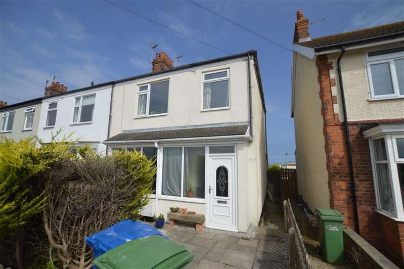 3 Bedrooms End Of Terrace House for sale in Pioneer Terrace, Cliff Road, Hornsea, East Yorkshire