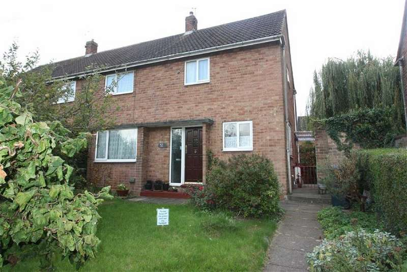 3 Bedrooms Semi Detached House for sale in Woodcote Way, Shrewsbury