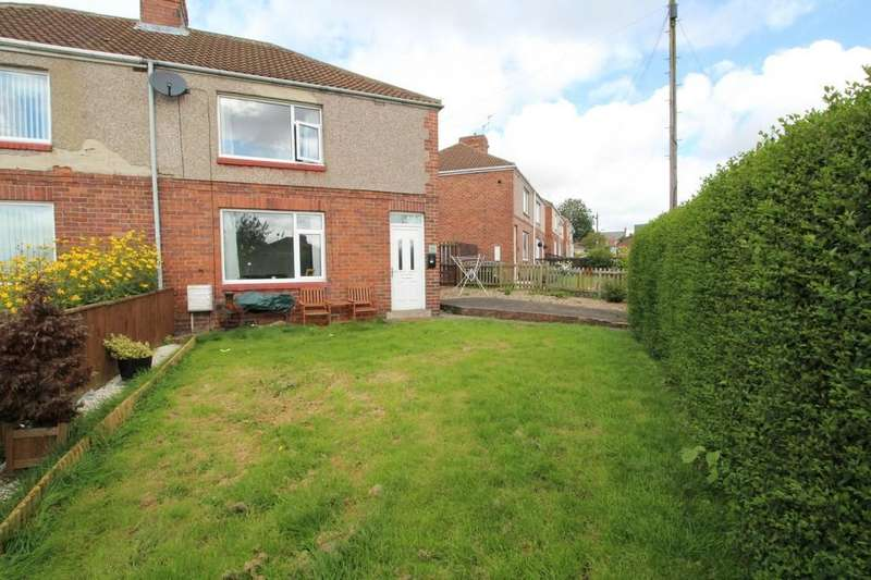 3 Bedrooms Semi Detached House for sale in Moorside Crescent, Fishburn