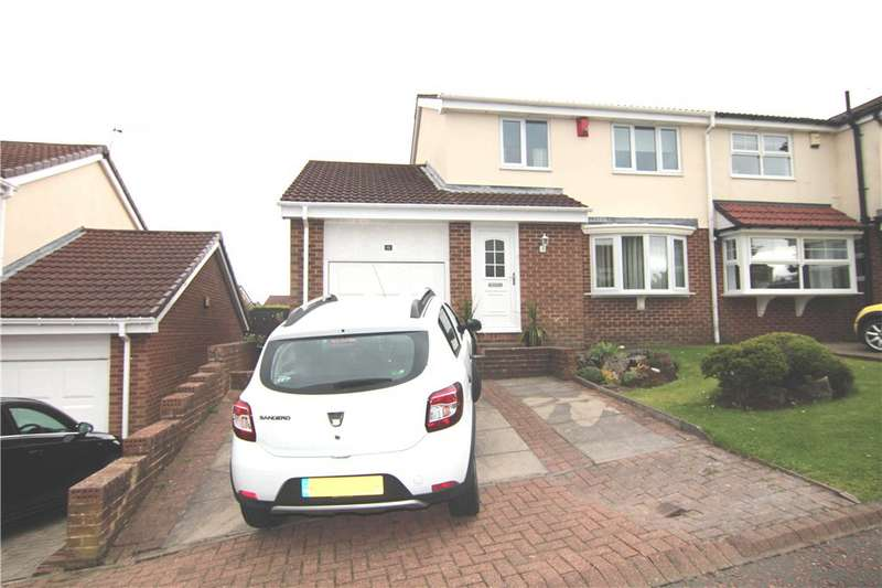 3 Bedrooms Semi Detached House for sale in Beamish Hills, Beamish, Stanley, DH9
