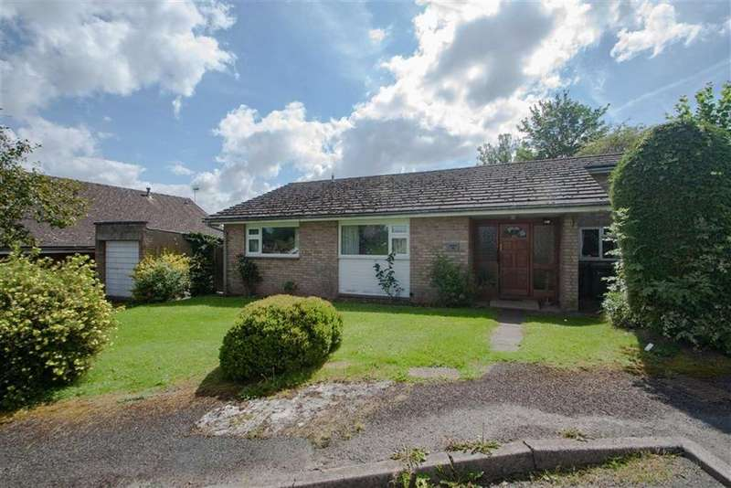 3 Bedrooms Detached Bungalow for sale in Orchard Grove, EWYAS HAROLD, Ewyas Harold Hereford, Herefordshire