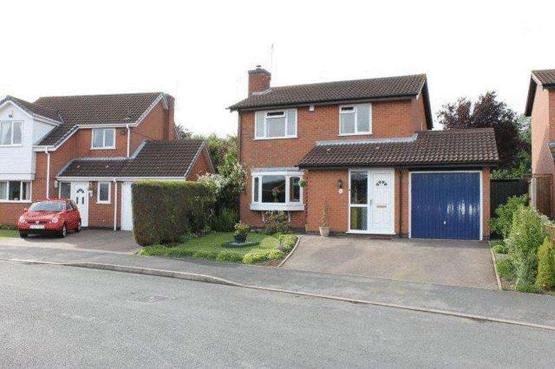 3 Bedrooms Detached House for sale in Lovetts Close, Hinckley, LE10 0YH