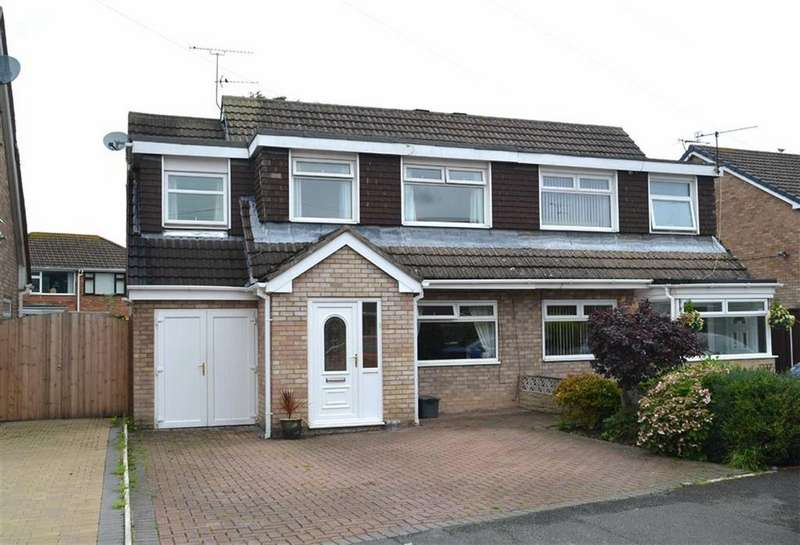 4 Bedrooms Semi Detached House for sale in Budworth Road, Great Sutton, CH66