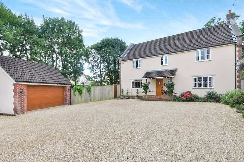 4 Bedrooms Detached House for sale in Bulls Lane, Tatworth, Chard, Somerset, TA20