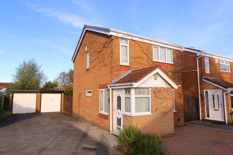 3 Bedrooms Detached House for sale in Sandbrook Way, Denton, Manchester, M34